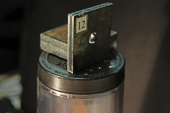 образец резки металла