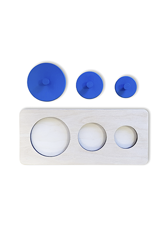 геометрические пазлы круглой формы