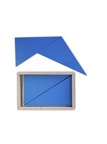 конструктивные треугольники монтессори