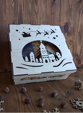 коробка город