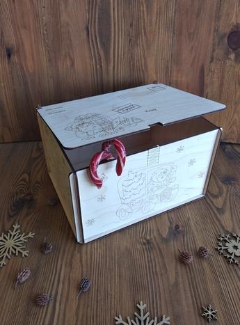 коробка почта деда мороза